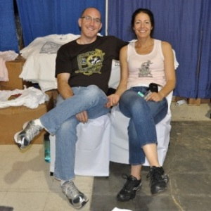 Steve and Amy Slotin of Slotin Folk Fest
