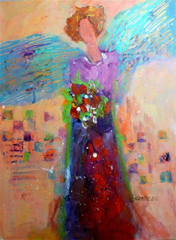 Nancy Standlee lylas painting