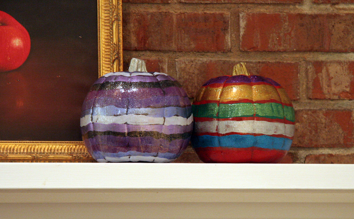 imperfect painted pumpkins