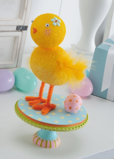 Easter Chick Centerpiece