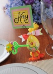 Easter Chick Placecard Holder