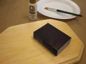 Get ready to prep your wood surface.