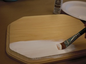 Basecoat your surface after sanding.