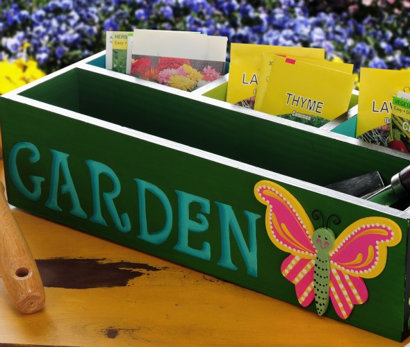 Garden Organizer with Butterfly