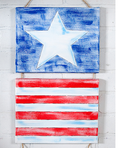 Patriot Canvas by Sherri Ragsdale