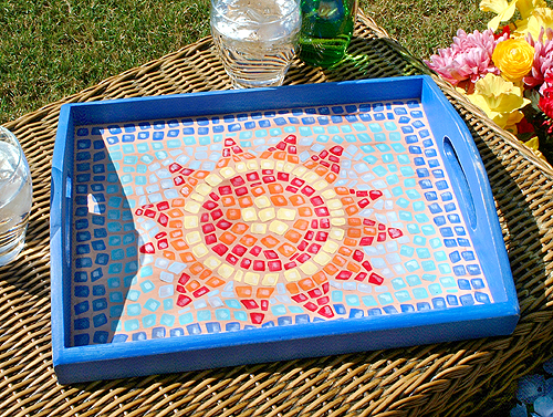 Patio Serving Tray by Sherrie Ragsdale