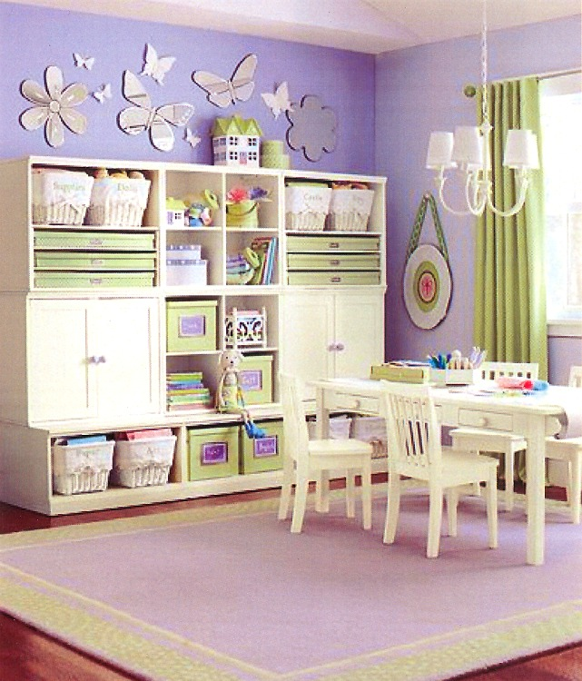 Kids' Craft Room from Pottery Barn