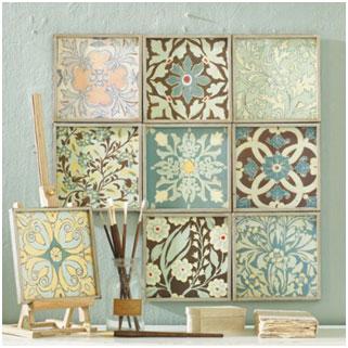 Tile Board featured in the Ballard Designs catalog.